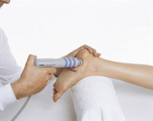 Behandlung eines Fersensporns
